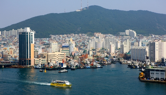 Busan-Harbour-view
